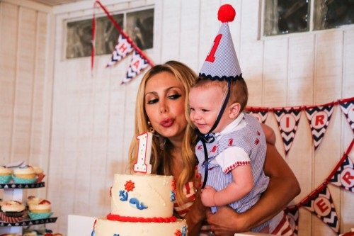 Anya Sarre Celebrates Baby's Birthday